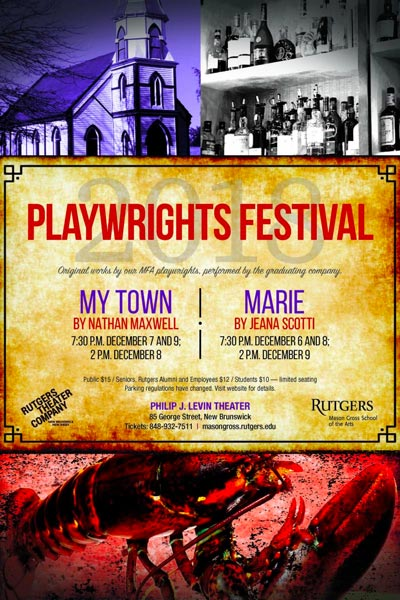 Rutgers Theater Company Presents 2018 Playwrights Festival