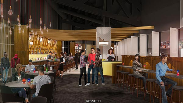 """Prudential Center Releases Renderings For """"The Lofts"""" - A New Premium Club"""