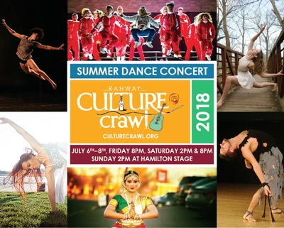 Rahway Hosts Culture Crawl Summer Dance Show