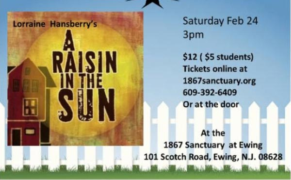"""Theater To Go Presents A Reading of """"A Raisin In The Sun"""" by Lorraine Hansberry"""