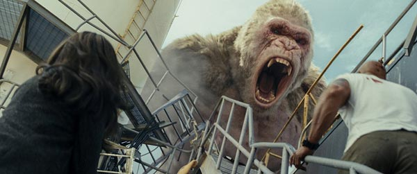 "REVIEW: ""Rampage"""