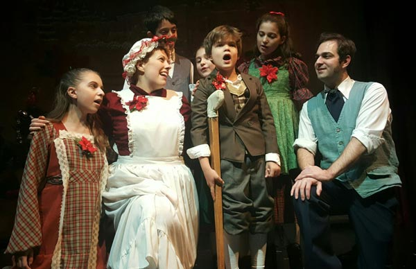 "The Ritz Theatre Co. Presents ""Scrooge, The Musical"""