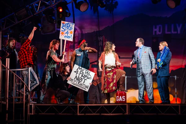 """""""It's a Blast!"""" Go See Rock of Ages 10th Anniversary Tour NOW! at the Hard Rock Hotel & Casino!"""