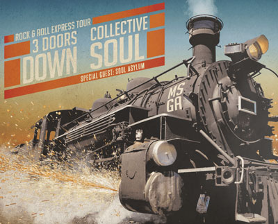 3 Doors Down, Collective Soul, and Soul Asylum to Perform Shows in Jersey