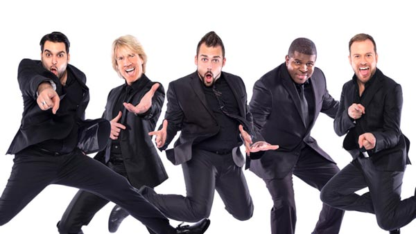 Grunin Center Presents Rockapella