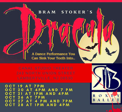 "Roxey Ballet Celebrates Halloween with ""Dracula"""