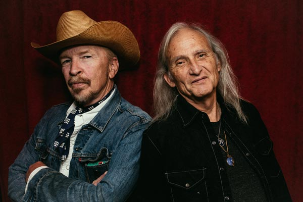 SOPAC Presents Roots Music Legends: Dave Alvin and Jimmie Dale Gilmore