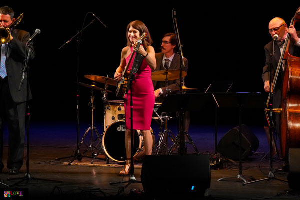 Cynthia Sayer and Her Joyride Quartet LIVE! at Toms River's Grunin Center
