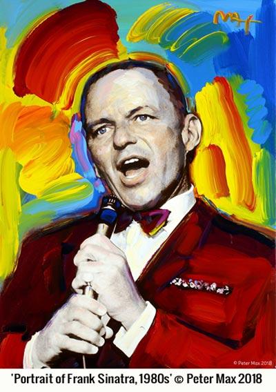 Peter Max Remembers Frank Sinatra
