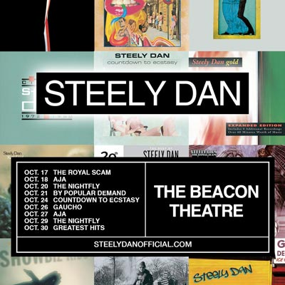 Steely Dan To Return To Beacon Theatre With Nine Show Residency