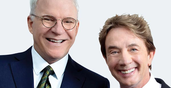NJPAC Presents Steve Martin & Martin Short An Evening You Will Forget for the Rest of Your Life