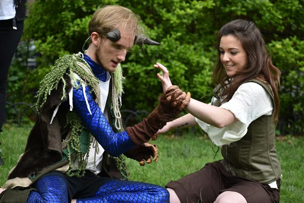 "The Hudson Shakespeare Company Presents ""The Tempest"""