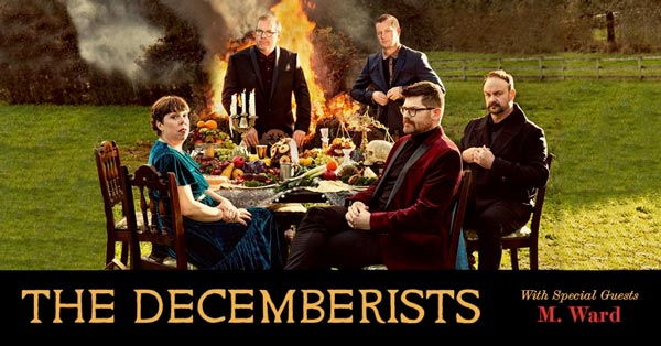 The Decemberists To Perform At Count Basie Center For The Arts