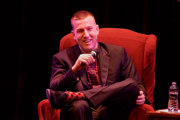 Baseball's Todd Frazier Speaks at Toms River's Grunin Center!