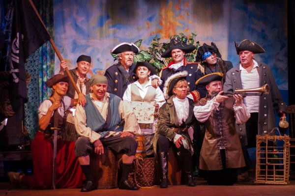 "The Lord Stirling Theater Company Presents ""Treasure Island"""