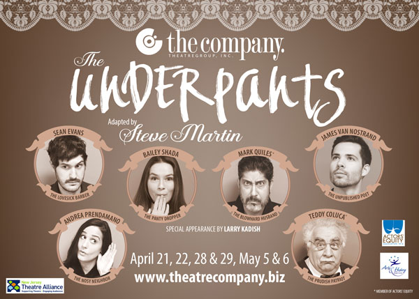 """The Company Theatre Group To Present """"The Underpants"""""""