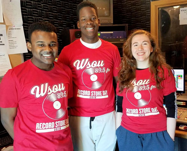 WSOU Celebrates Record Store Day and Vinylthon 2018 with Limited Edition T-Shirt