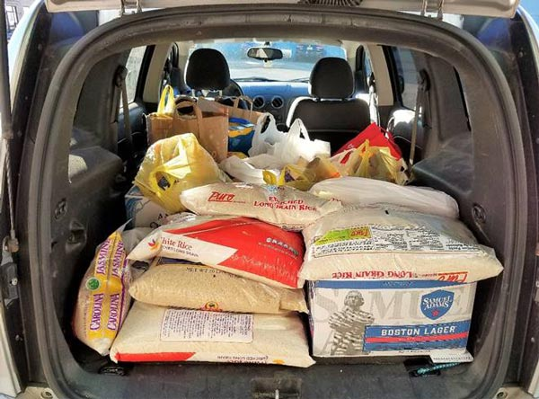 WSOU Donates More Than 900 Pounds of Food To Local Foodbank