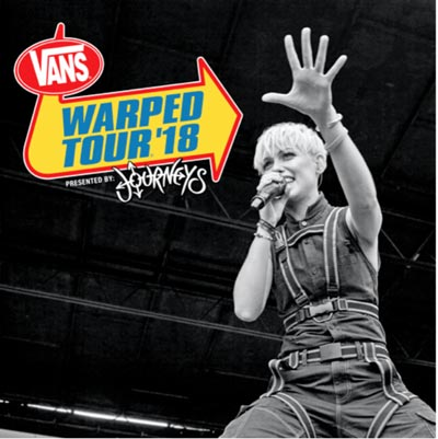 Senses Fail Among Bands On 2018 Vans Warped Tour Compilation
