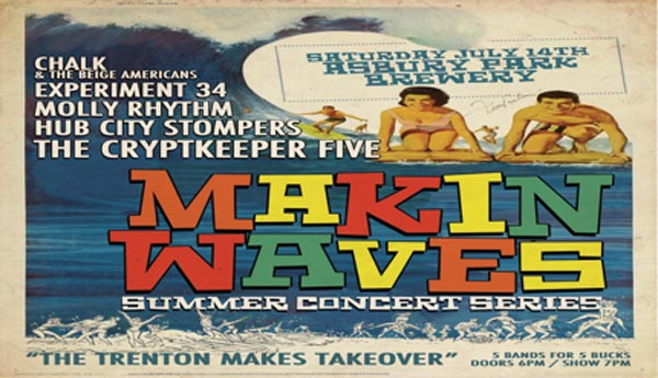 """Makin Waves with The Cryptkeeper Five: """"Trenton makes and takes over"""""""