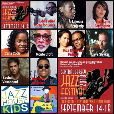 Makin Waves Scene Report with Central Jersey Jazz Festival, Indian Summer Festival, Ancient Babies and more
