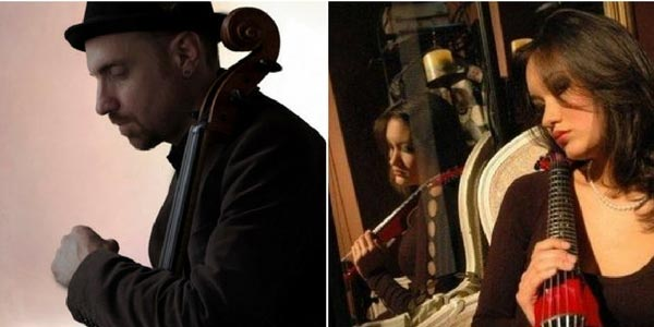 West Windsor Arts Council Hosts Gala Featuring cellist David Eggar and violinist Katie Jacoby