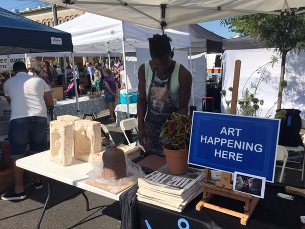 Visual Arts Center of New Jersey Brings Art to the Summit Farmers Market