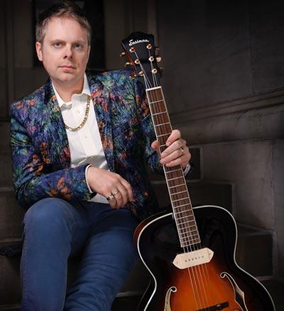 Guitarist Charlie Apicella Leads a Trio  At NJ Jazz Society's November Social in Madison