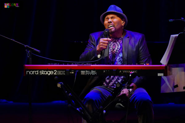 """He's Withstood the Test of Time"" Aaron Neville LIVE! at SOPAC"