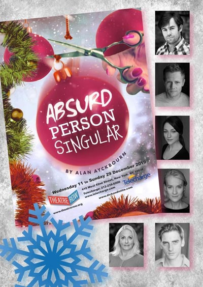 """Absurd Person Singular"" By Alan Ayckbourn Presented By British Company In NYC"