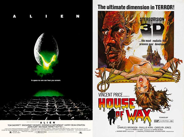 """""""Alien"""" and """"House of Wax"""" To Be Screened At ShowRoom Cinema"""