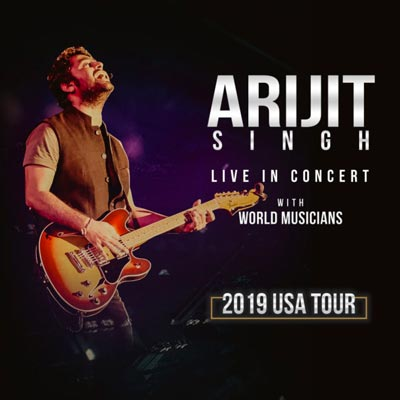 Arijit Singh's New North American Tour Will Include Single Stop In Tri-State Region At Prudential Center on April 13