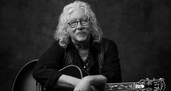Arlo Guthrie To Perform at The Paramount Theatre in Asbury Park and at NJPAC in Newark