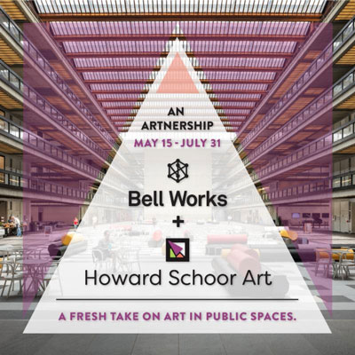 "Bell Works and Howard Schoor Art To collaborate With ""Artnership"" -  a fresh take on art in public spaces"