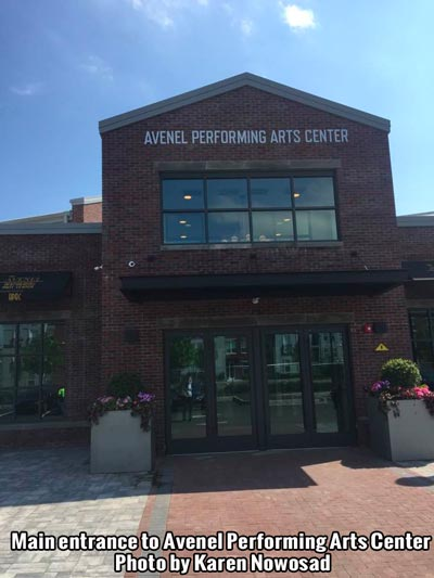 The Arts Go Live at Avenel Performing Arts Center