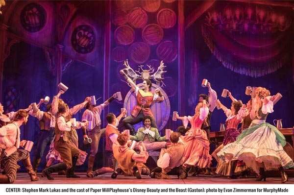'Beauty and the Beast' at Paper Mill Playhouse Offers Something for Everyone