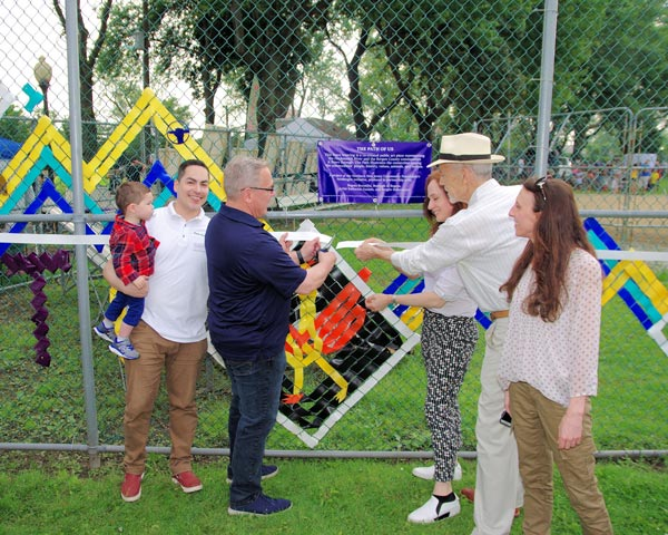 Ribbon Cutting Ceremony Introduces Public Art,  'The Path of Us', in Bergen County