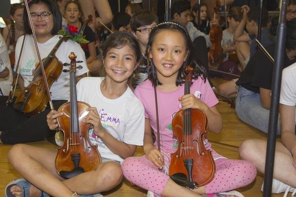 The 24th Annual Elisabeth Morrow School Summer String Festival