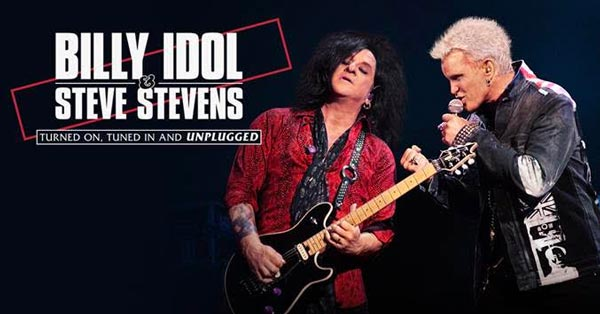 Billy Idol and Steve Stevens To Perform At Count Basie Center For The Arts
