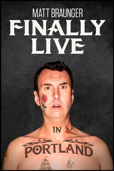 "Matt Braunger To Release ""Finally Live in Portland"""