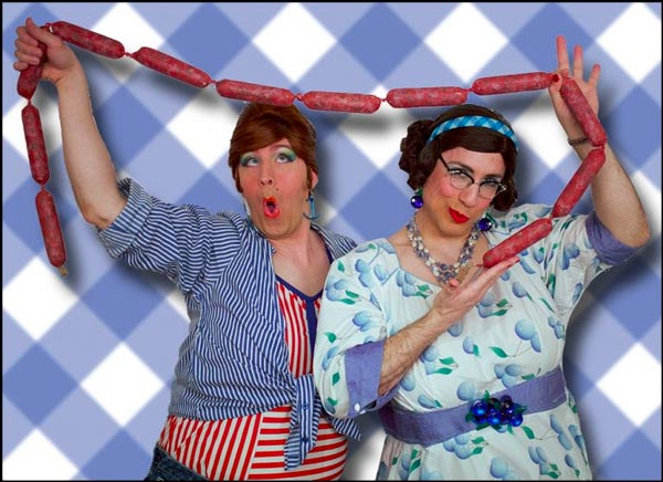 "The Calamari Sisters To Bring ""23rd Annual Italian Sausagefest"" To The Newton Theatre"