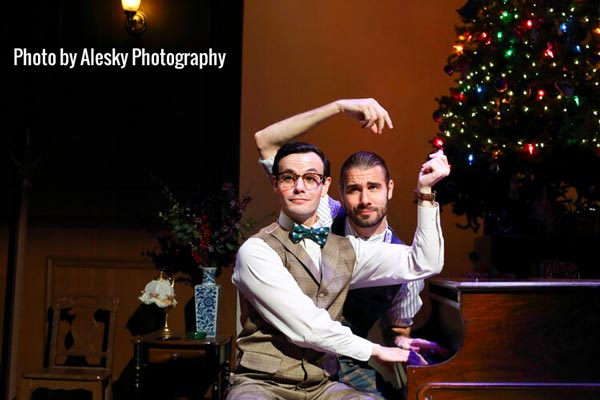 "Merry, Madcap... Murder? Cape May Stage Presents ""Murder for Two: Holiday Edition"""