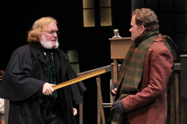 "PHOTOS from ""A Christmas Carol"" at Shakespeare Theatre of NJ"
