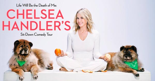 Chelsea Handler To Release Memoir And Tour