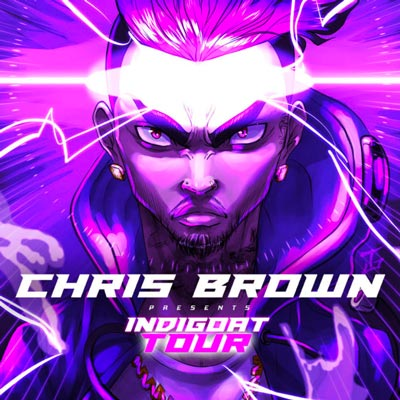 Chris Brown Brings INDIGOAT Tour To Prudential Center In Newark