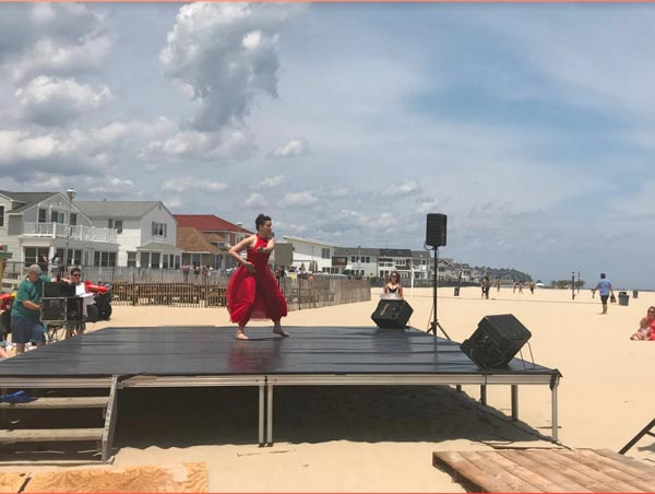 Show Up and Dance On The Beach in Point Pleasant On June 27th