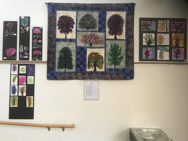 D&R Greenway's Olivia Rainbow Gallery Presents Vivid Tree Art of Princeton Junior School students