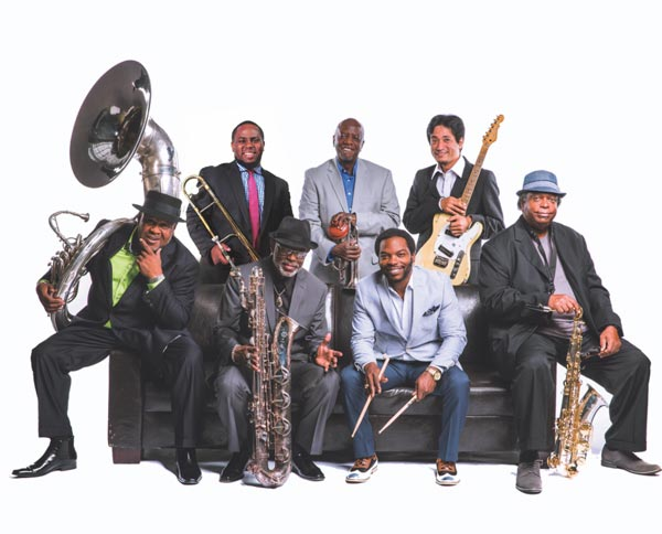 Outpost in the Burbs Presents Dirty Dozen Brass Band