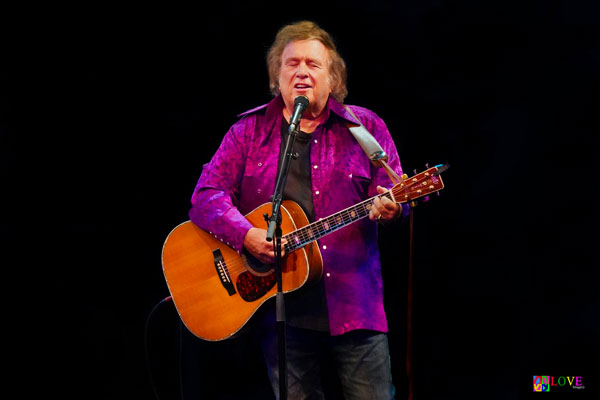 """""""Flawless!"""" Don McLean LIVE! at SOPAC"""