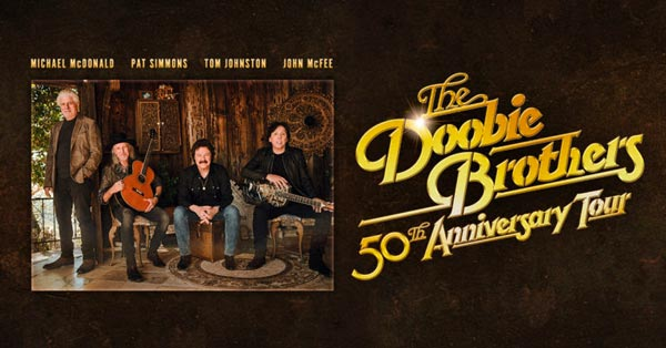The Doobie Brothers To Celebrate 50th Anniversary With Tour That Comes To Camden and Holmdel